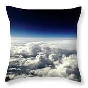 Dragons Outside My Window Throw Pillow