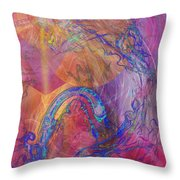 Dragon's Tale Throw Pillow