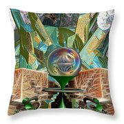 Dragon's Treasure Throw Pillow