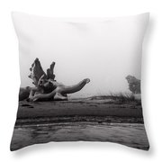 Dragonwood II Throw Pillow
