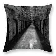 Drainage Throw Pillow