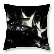 Drained  Throw Pillow