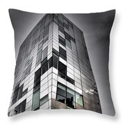 Drama In The City 4 Throw Pillow