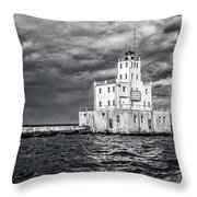 Drama In The Clouds Throw Pillow