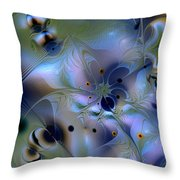 Drama Of Indifference Throw Pillow
