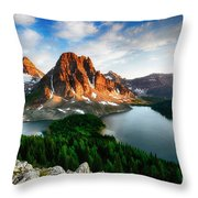 Drama Of The Canadian Rockies 3 Throw Pillow