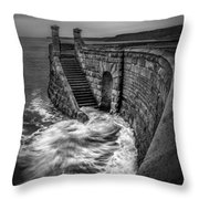 Drama Of The Sea Throw Pillow