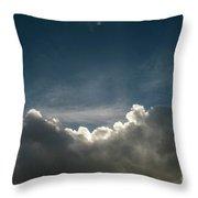 Dramatic Cloudy Sky Throw Pillow