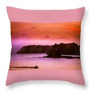 Dramatic Seascape Throw Pillow