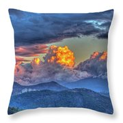 Dramatic Sky And Clouds Throw Pillow