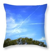 Dramatic Sky Throw Pillow
