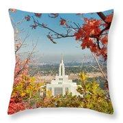 Draper Temple Oaks Throw Pillow