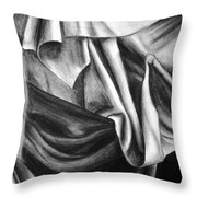 Drapery Still Life Throw Pillow