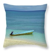 South Pacific Dreams Throw Pillow
