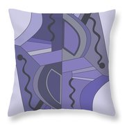 Drawn2abstract229 Throw Pillow