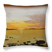 drayton Harbour Throw Pillow
