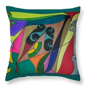 Dream 229 Throw Pillow