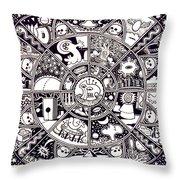 Dream #23 Throw Pillow