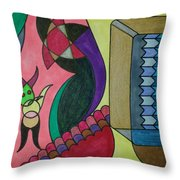 Dream 76 Throw Pillow