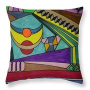 Dream 77 Throw Pillow