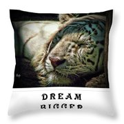 Dream Bigger Throw Pillow