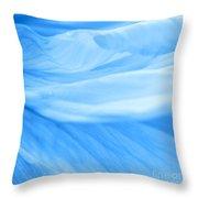 Dream Blue Throw Pillow