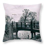 Dream Bridge Throw Pillow