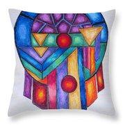 Dream Catcher Abstract Throw Pillow