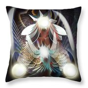 Dream Catching Throw Pillow