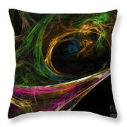 Dream Channel Throw Pillow