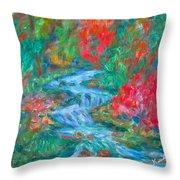 Dream Creek Throw Pillow