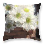Dream Daisies Throw Pillow