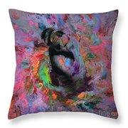Dream Dancer Art  Throw Pillow