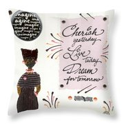 Dream For Tomorrow Throw Pillow