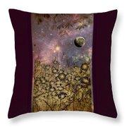 Dream Garden Throw Pillow