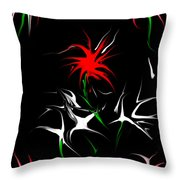 Dream Garden II Throw Pillow by David Lane