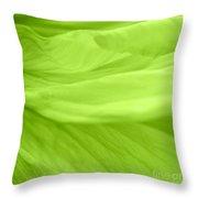 Dream Green Throw Pillow