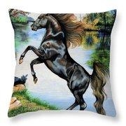 Dream Horse Series 3015 Throw Pillow
