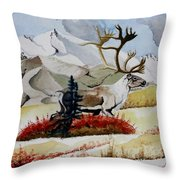 Dream Hunt Throw Pillow
