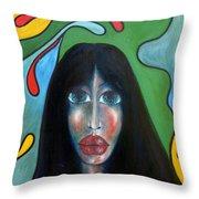 Dream II Throw Pillow