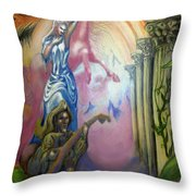 Dream Image 1 Throw Pillow