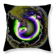 Dream Kayaking Throw Pillow