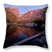 Dream Lake Throw Pillow by Gary Lengyel
