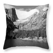 Dream Lake, Rocky Mountain National Park  Throw Pillow