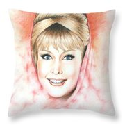 Dream Of Jeannie Throw Pillow