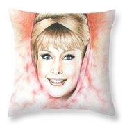 Dream Of Jeannie Throw Pillow