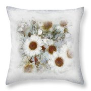Dream Of Marguerite Throw Pillow