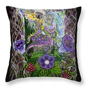 Dream Of The Bee Throw Pillow