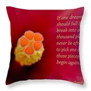 Dream Pieces Throw Pillow