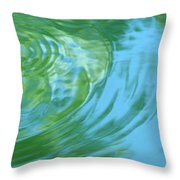 Dream Pool Throw Pillow